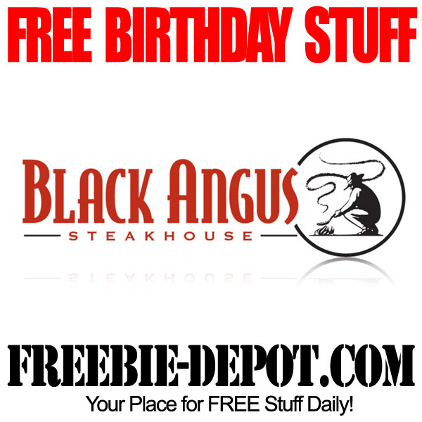 Free Birthday Black Angus