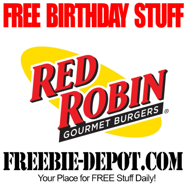 Free Birthday Burger at Red Robin
