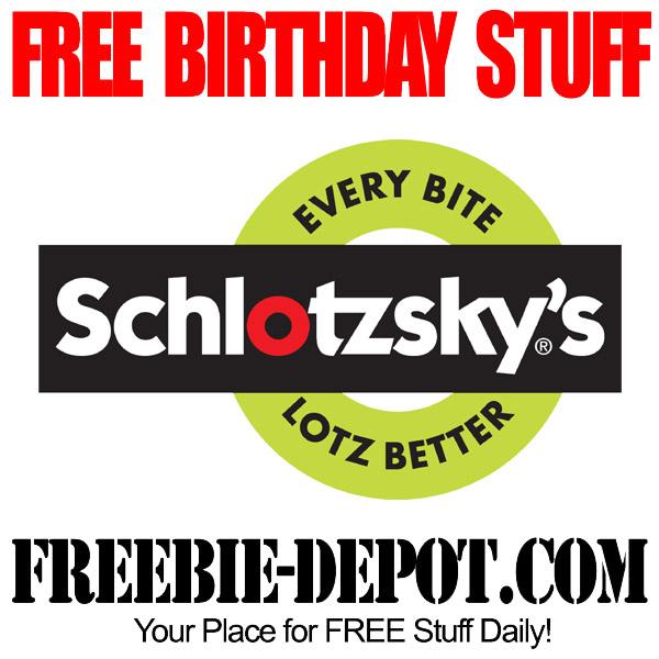 FREE BIRTHDAY STUFF – Schlotzsky's Cafe & Bakery – Birthday Freebie Sandwich