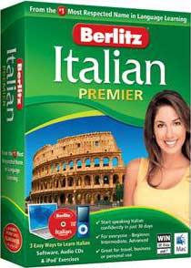FREE After Rebate Italian Language Software