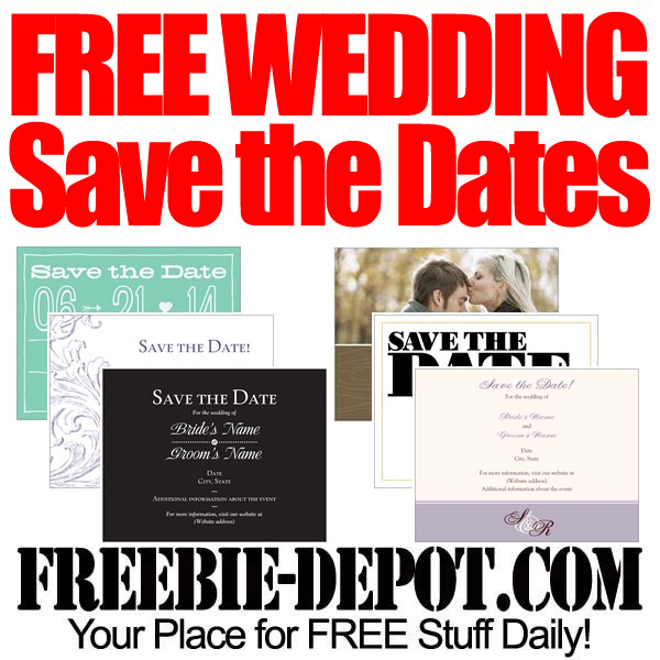 FREE Wedding Save-The-Dates