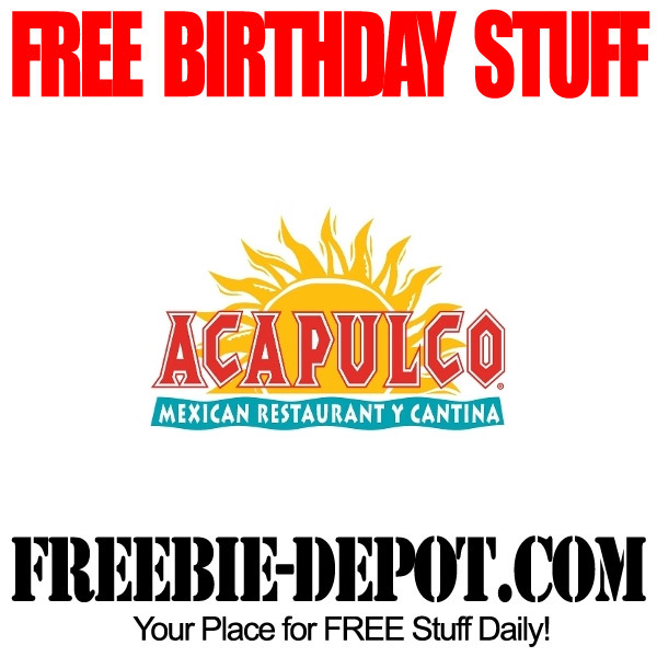 Free Birthday Meal at Acapulco