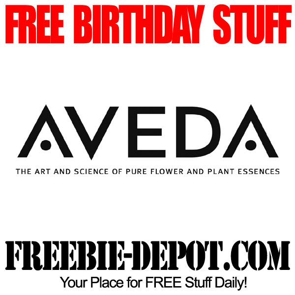 Free Birthday Gift from Aveda invati