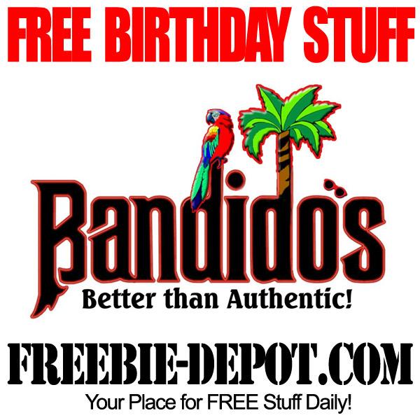 Free Birthday Meal at Bandidos