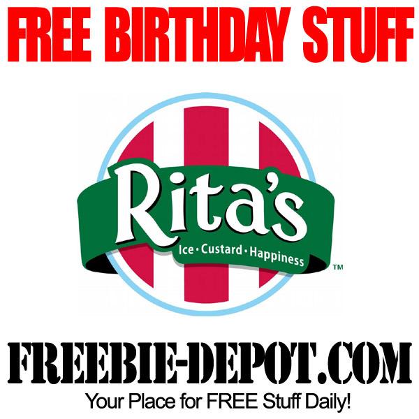 Free Birthday Italian Ice
