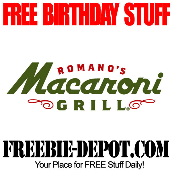 Free Birthday Macaroni