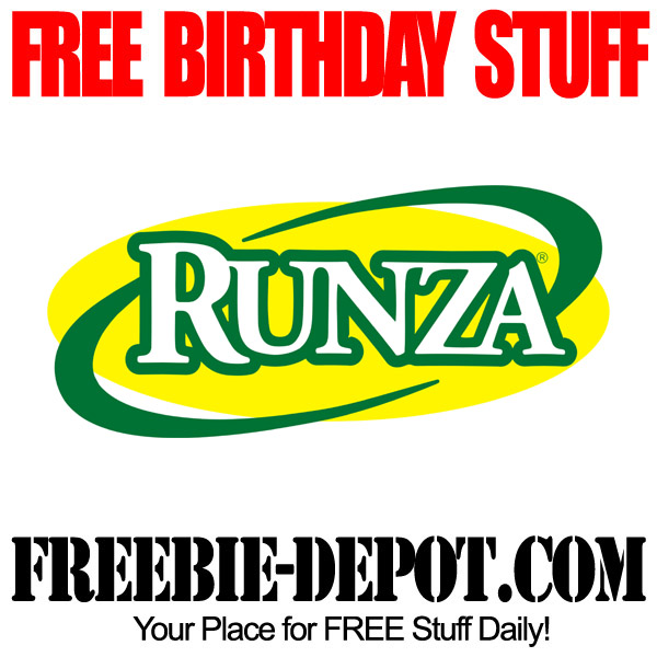Free Birthday Kid Meal at Runza