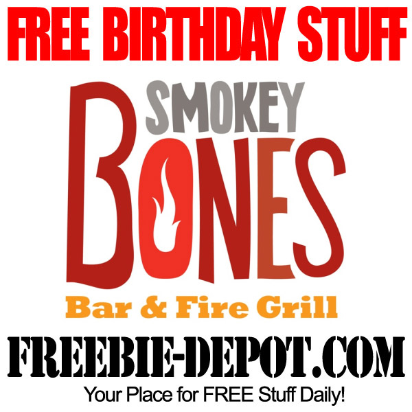 Free Birthday Smokey Bones