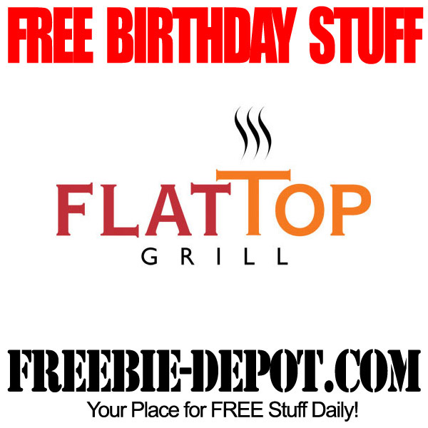 Free Birthday Stir-Fry at Flattop