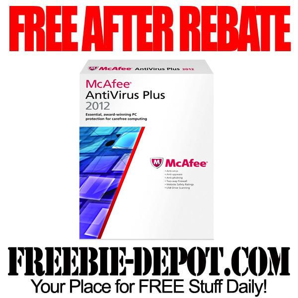 FREE AFTER REBATE – Antivirus Software