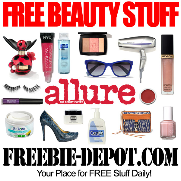 FREE Beauty Stuff in August from Allure