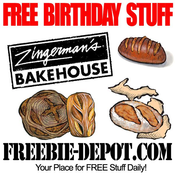 Free Birthday Bread