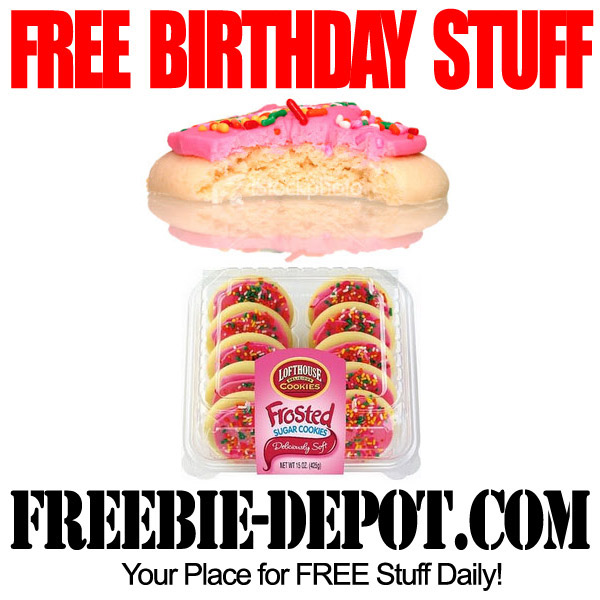 Free Birthday Lofthouse Cookies