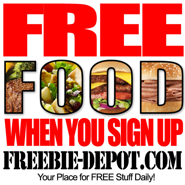 FREE Food When You Sign Up – 75+ Restaurants