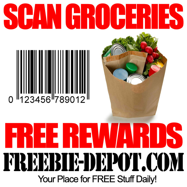 Scan Groceries for FREE Rewards – FREE Handheld Scanner