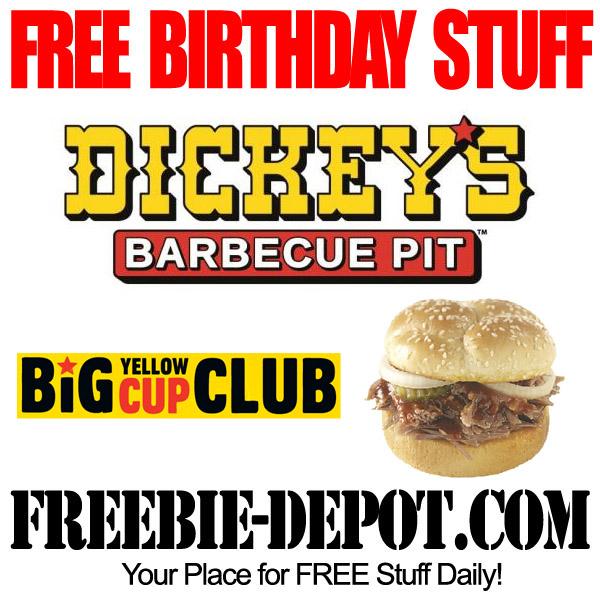 Free Birthday BBQ Sandwich