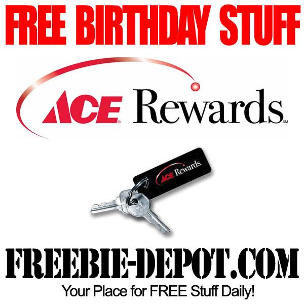 Free Birthday Hardware