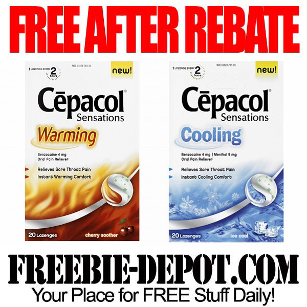 FREE AFTER REBATE – Throat Lozenges