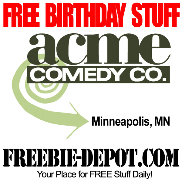 Free Birthday Comedy