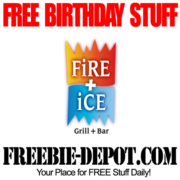 Free Birthday Dinner Fire Ice