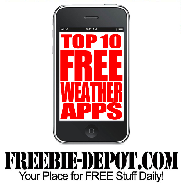 Top 10 FREE Weather Apps for iPhone