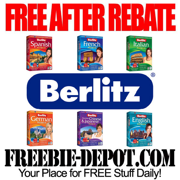 FREE AFTER REBATE – Foreign Language Software