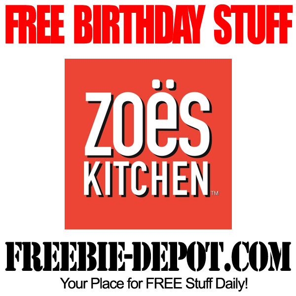 Free Birthday Entree Zoes