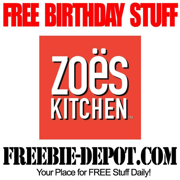 Birthday Freebie Zoes Kitchen Freebie Depot