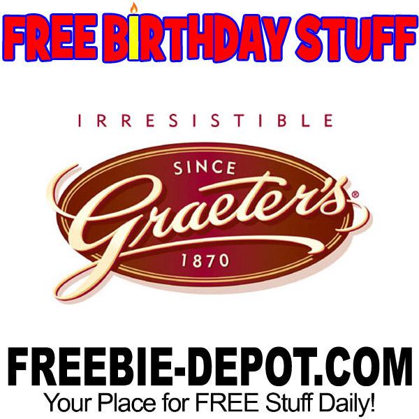 BIRTHDAY FREEBIE – Graeter's Ice Cream