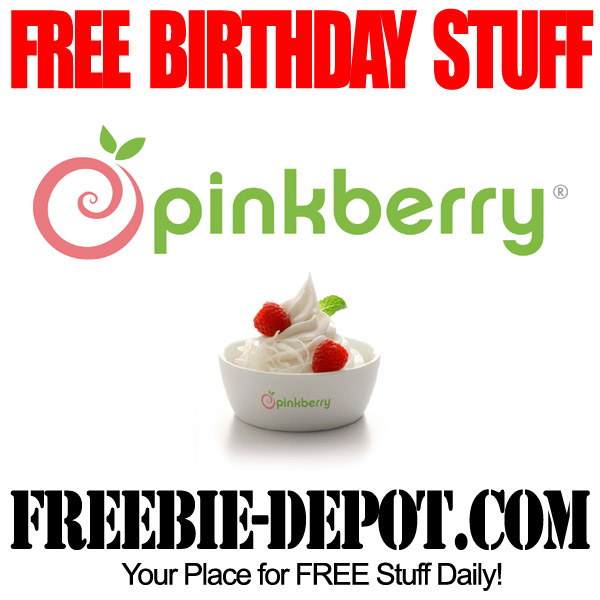 Free Birthday Pinkberry