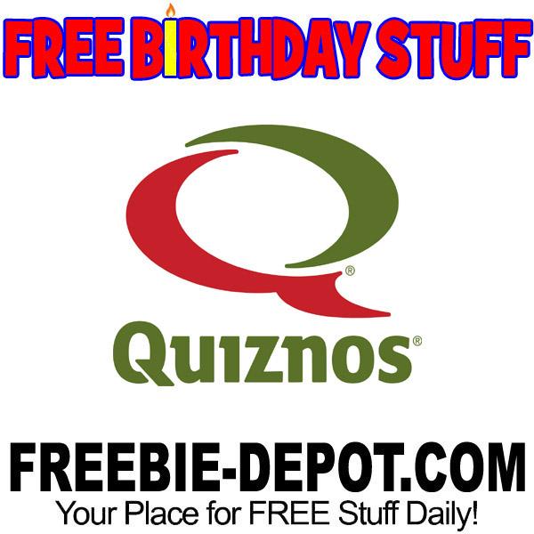 BIRTHDAY FREEBIE – Quiznos