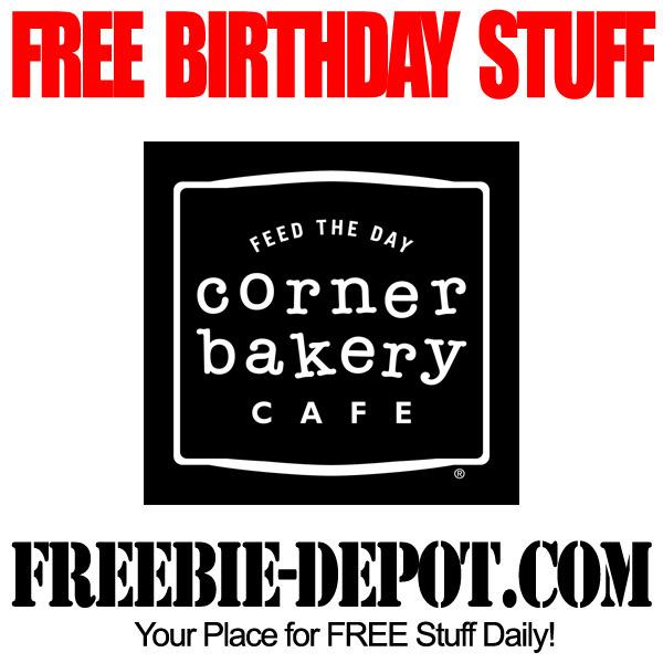 Free Birthday Sweet at Corner Bakery Cafe