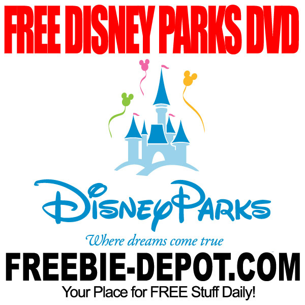 Free Disney Parks DVD