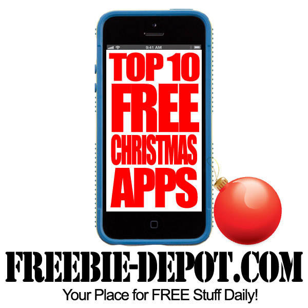 Top 10 FREE Christmas Apps for iPhone