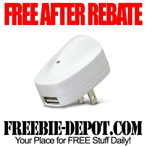 FREE AFTER REBATE – USB Power Adapter for iPhone