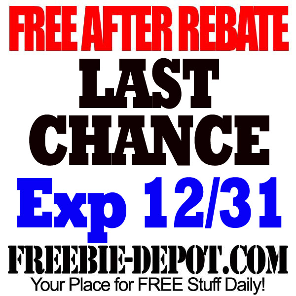 FREE AFTER REBATE – LAST CHANCE!