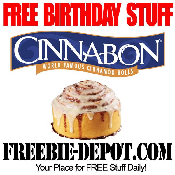 Free Birthday Cinnabon