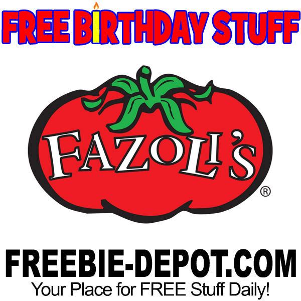 BIRTHDAY FREEBIE – Fazoli's