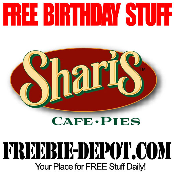 Free Birthday Apple Pie at Shari's