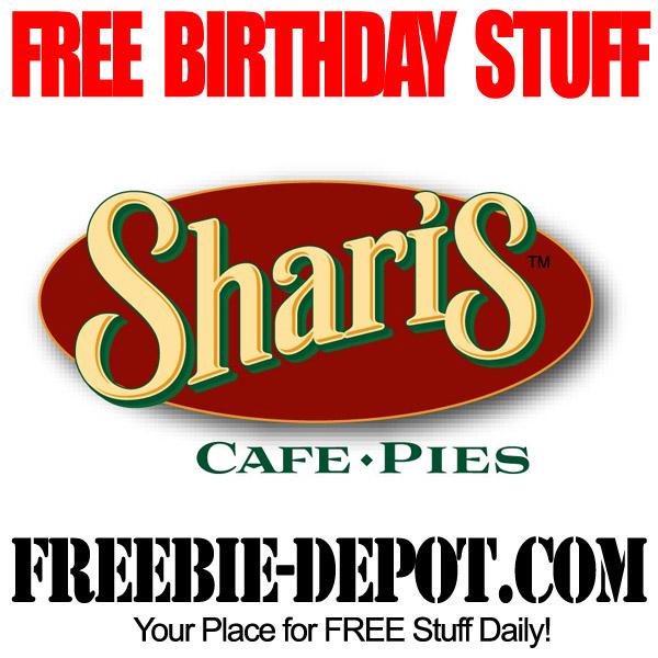 Free Birthday Apple Pie at Shari's
