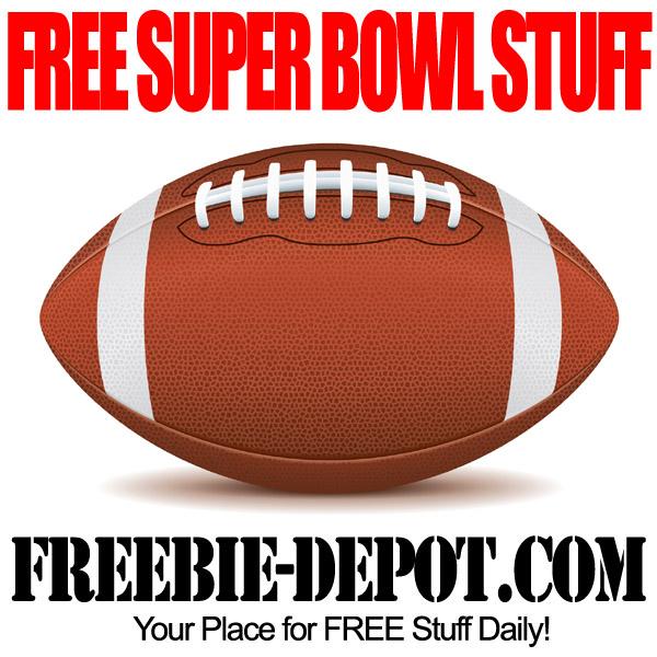 FREE Super Bowl Stuff