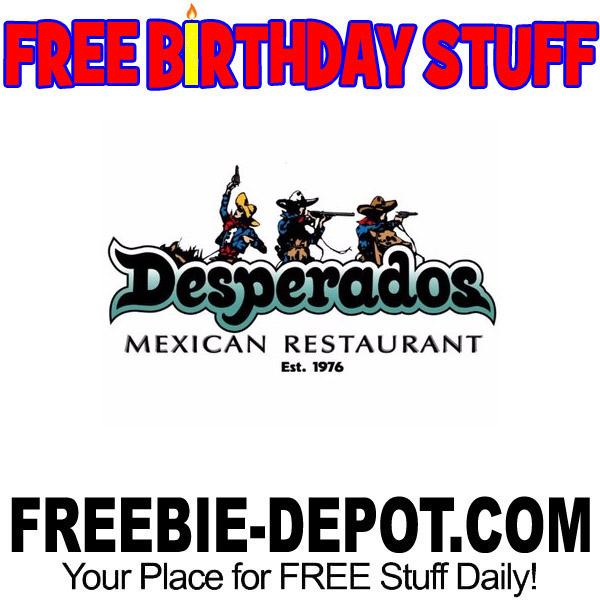 BIRTHDAY FREEBIE – Desperados