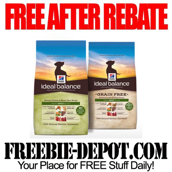 FREE AFTER REBATE – Dog Food – 4 lb. bag