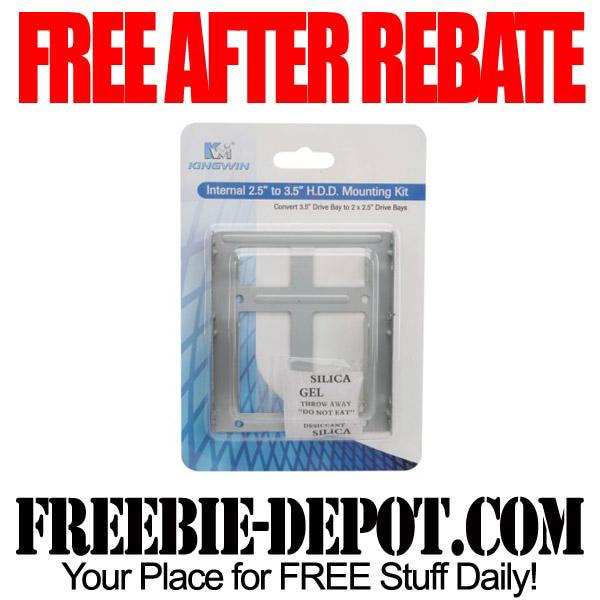 FREE AFTER REBATE – Mounting Kit