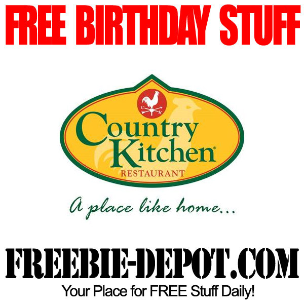 Free Birthday Country Kitchen