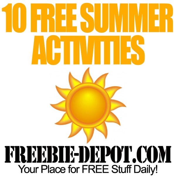 10 FREE Summer Activities