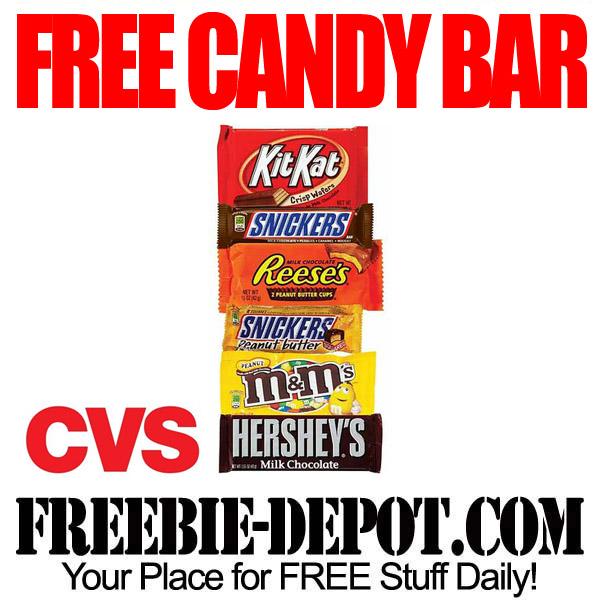 FREE Candy Bar at CVS