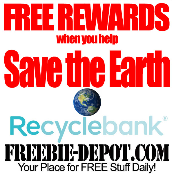 FREE Rewards for Recycling & More