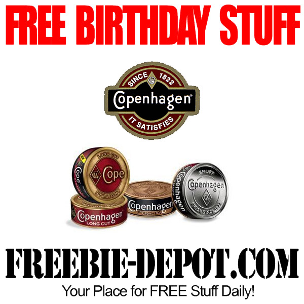 If you are registered with Copenhagen tobacco you might be lucky ...