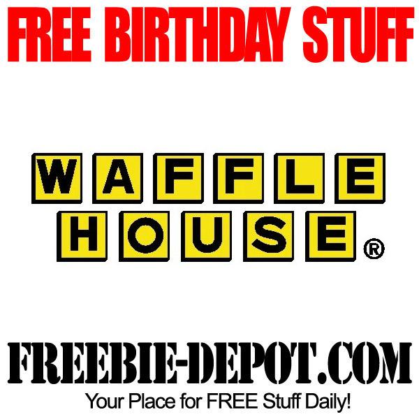 Free Birthday Waffle House